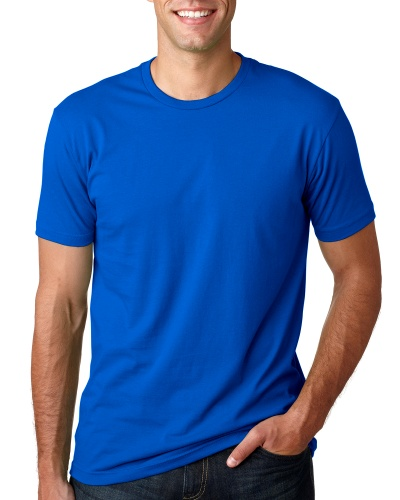 Custom Printed Next Level 3600 Premium Unisex Cotton T-Shirt - 12 - Front View | ThatShirt