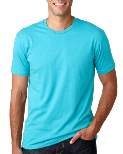 Custom Printed Next Level 3600 Premium Unisex Cotton T-Shirt - Front View   ThatShirt