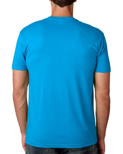Custom Printed Next Level 3600 Premium Unisex Cotton T-Shirt - 19 - Back View | ThatShirt