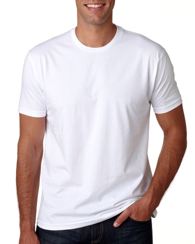 Custom Printed Next Level 3600 Premium Unisex Cotton T-Shirt - Front View | ThatShirt
