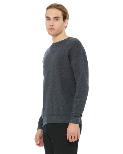 Custom Printed Bella + Canvas 3945 Unisex Drop Shoulder Fleece - Front View | ThatShirt