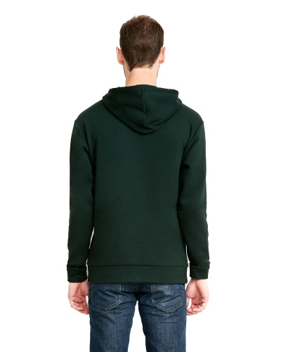 Custom Printed Next Level 9303 Premium Unisex Pullover Hood - 3 - Back View | ThatShirt
