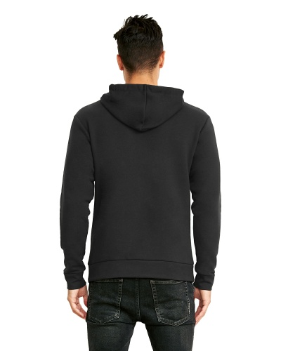 Custom Printed Next Level 9303 Premium Unisex Pullover Hood - 2 - Back View | ThatShirt