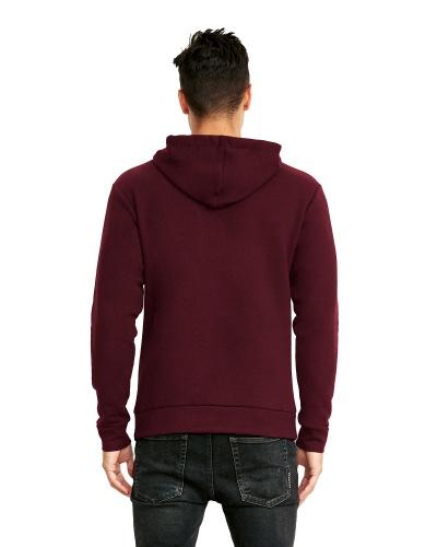 Custom Printed Next Level 9303 Premium Unisex Pullover Hood - 6 - Back View | ThatShirt