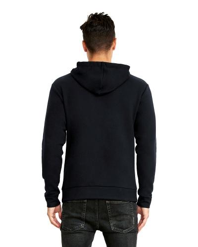 Custom Printed Next Level 9303 Premium Unisex Pullover Hood - 5 - Back View | ThatShirt