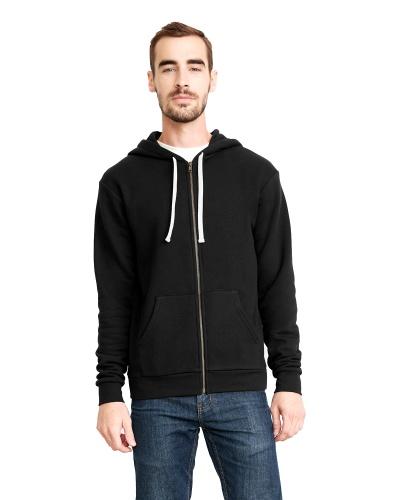 Custom Printed Next Level 9602 Premium Unisex Zip Hoody - Front View | ThatShirt