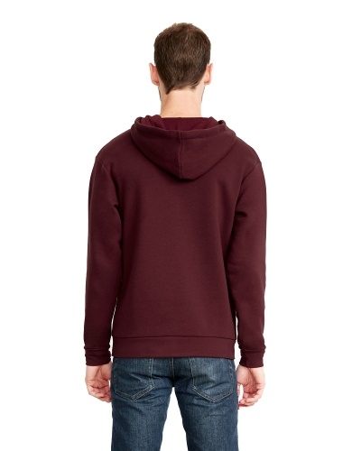 Custom Printed Next Level 9602 Premium Unisex Zip Hoody - 5 - Back View | ThatShirt