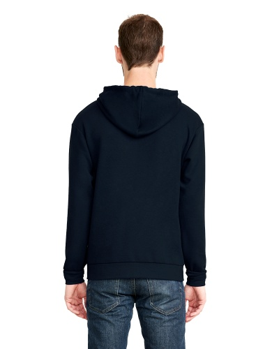 Custom Printed Next Level 9602 Premium Unisex Zip Hoody - 4 - Back View | ThatShirt