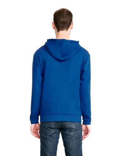 Custom Printed Next Level 9602 Premium Unisex Zip Hoody - 3 - Back View | ThatShirt
