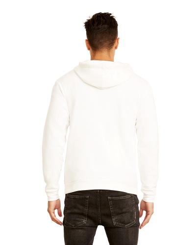 Custom Printed Next Level 9602 Premium Unisex Zip Hoody - 0 - Back View | ThatShirt
