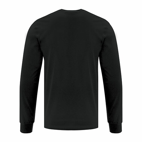 Custom Printed ATC1015 Everyday Cotton Long sleeve Tee - 1 - Back View | ThatShirt