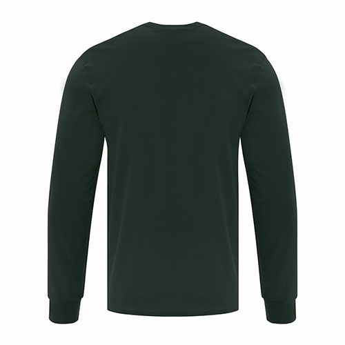 Custom Printed ATC1015 Everyday Cotton Long sleeve Tee - 2 - Back View | ThatShirt