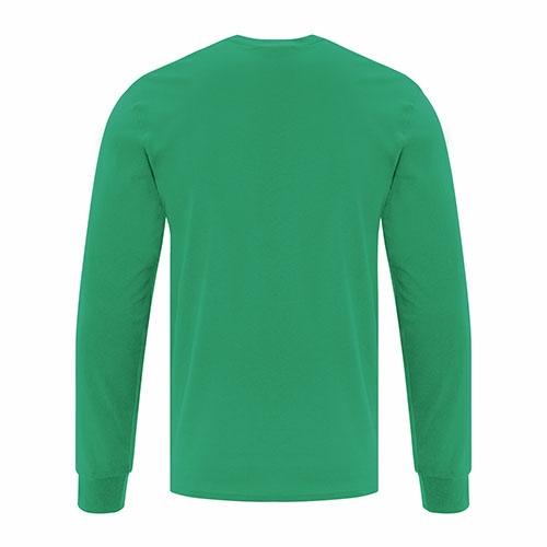 Custom Printed ATC1015 Everyday Cotton Long sleeve Tee - 4 - Back View | ThatShirt
