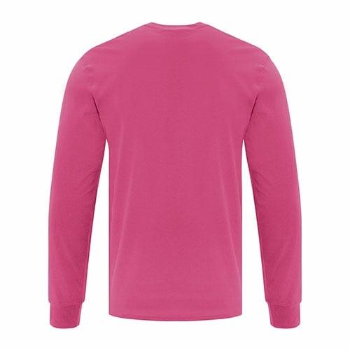 Custom Printed ATC1015 Everyday Cotton Long sleeve Tee - 11 - Back View   ThatShirt