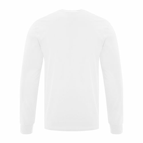Custom Printed ATC1015 Everyday Cotton Long sleeve Tee - 12 - Back View | ThatShirt