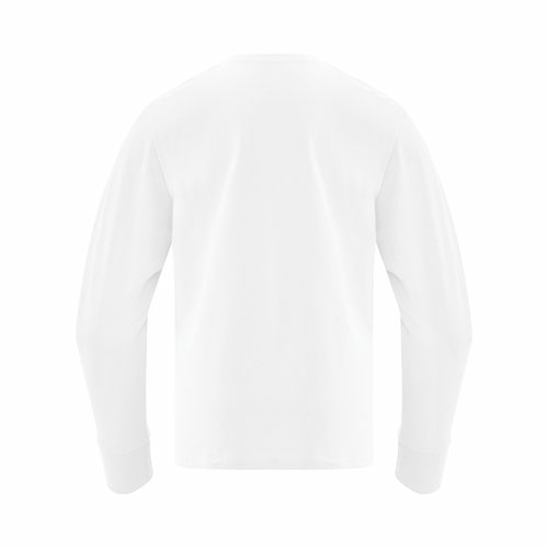 Custom Printed ATC 1015Y Everyday Cotton Long Sleeve Youth Tee - 12 - Back View   ThatShirt