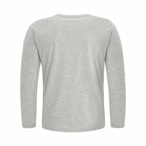 Custom Printed ATC8015 Eurospun Ring Spun Long Sleeve Tee - 0 - Back View | ThatShirt