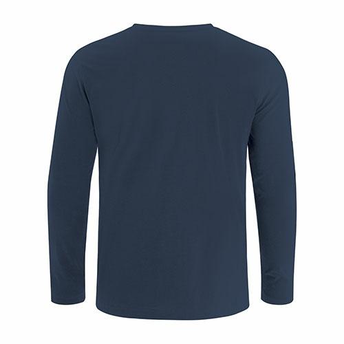Custom Printed ATC8015 Eurospun Ring Spun Long Sleeve Tee - 3 - Back View | ThatShirt