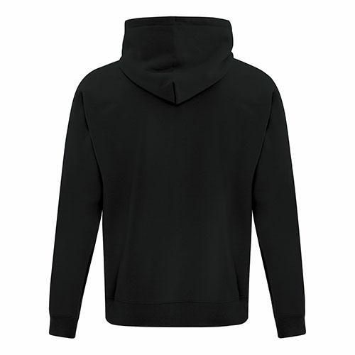 Custom Printed ATCF2600 Everyday Fleece Full Zip Hooded Sweatshirt - 2 - Back View | ThatShirt