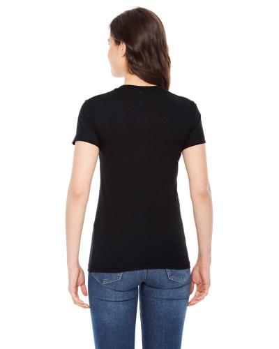 Custom Printed American Apparel BB301W Poly-Cotton Short-Sleeve Crewneck - 2 - Back View | ThatShirt