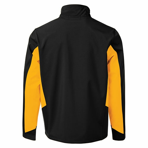 Custom Printed Coal Harbour J7602 Everyday Colour Block Soft Shell Jacket -  - Back View | ThatShirt