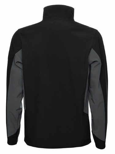 Custom Printed Coal Harbour J7602 Everyday Colour Block Soft Shell Jacket - 1 - Back View | ThatShirt