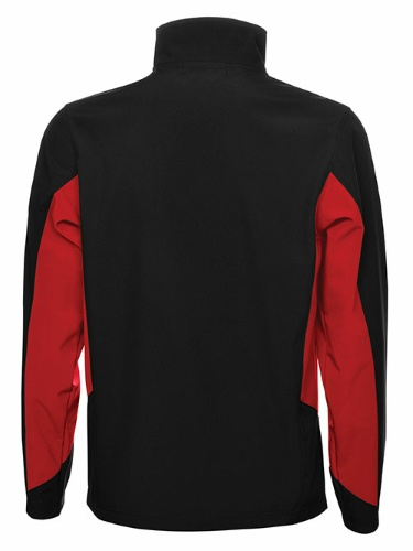 Custom Printed Coal Harbour J7602 Everyday Colour Block Soft Shell Jacket - 2 - Back View | ThatShirt