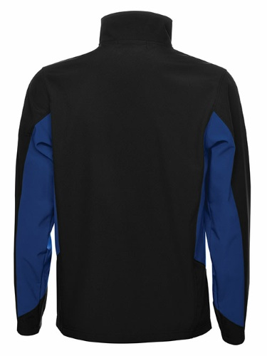 Custom Printed Coal Harbour J7602 Everyday Colour Block Soft Shell Jacket - 3 - Back View | ThatShirt