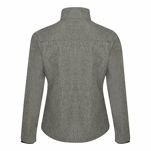 Custom Printed Coal Harbour L0760 Premiere Soft Shell Ladies' Jacket - 1 - Back View   ThatShirt