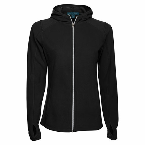 Custom Printed Coal Harbour L7502 Everyday Fleece Ladies' Jacket - Front View | ThatShirt