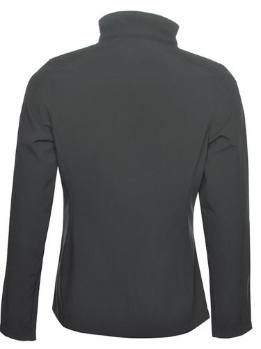 Custom Printed Coal Harbour L7603 Everyday Soft Shell Ladies' Jacket - 4 - Back View   ThatShirt