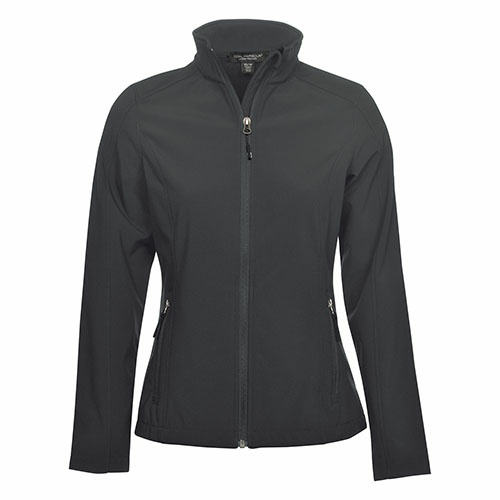 Custom Printed Coal Harbour L7603 Everyday Soft Shell Ladies' Jacket - 4 - Front View | ThatShirt
