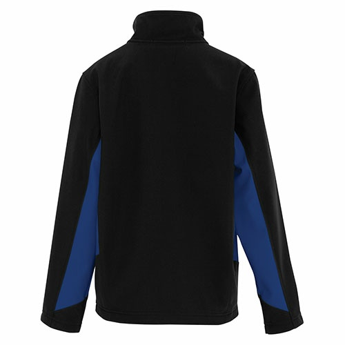 Custom Printed Coal Harbour Y7604 Everyday Colour Block Soft Shell Youth Jacket - 2 - Back View | ThatShirt