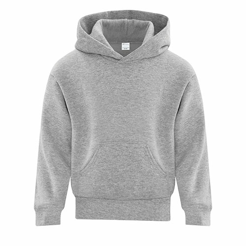 Custom Printed ATC Y2500 EVERYDAY FLEECE HOODED YOUTH SWEATSHIRT - 0 - Front View | ThatShirt