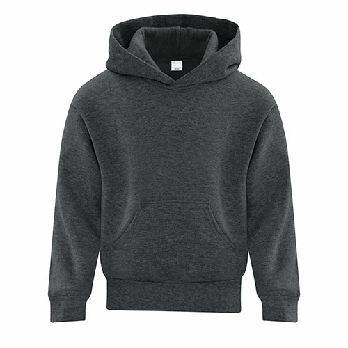 Custom Printed ATC Y2500 EVERYDAY FLEECE HOODED YOUTH SWEATSHIRT - 3 - Front View | ThatShirt