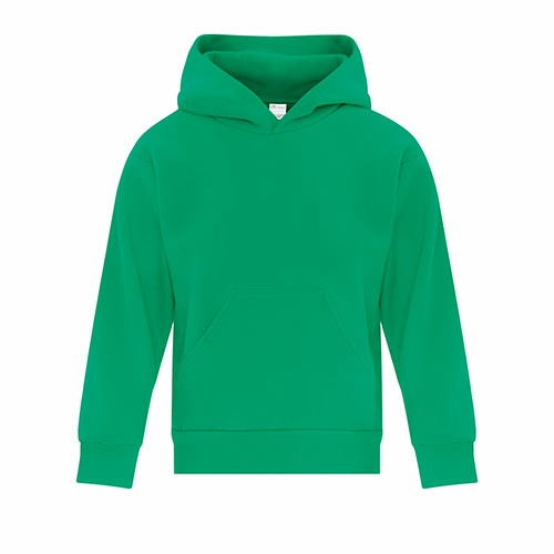 Custom Printed ATC Y2500 EVERYDAY FLEECE HOODED YOUTH SWEATSHIRT - Front View | ThatShirt