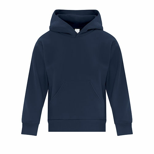 Custom Printed ATC Y2500 EVERYDAY FLEECE HOODED YOUTH SWEATSHIRT - 7 - Front View | ThatShirt