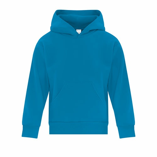 Custom Printed ATC Y2500 EVERYDAY FLEECE HOODED YOUTH SWEATSHIRT - 13 - Front View | ThatShirt
