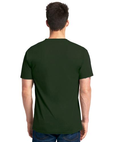 Custom Printed Next Level 6010 Premium Men's Triblend Crew - 15 - Back View | ThatShirt