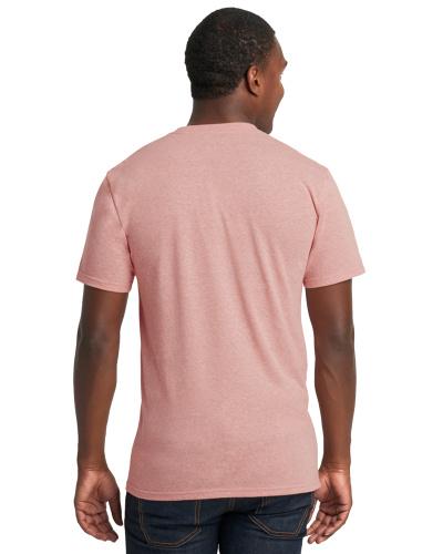 Custom Printed Next Level 6010 Premium Men's Triblend Crew - 14 - Back View | ThatShirt