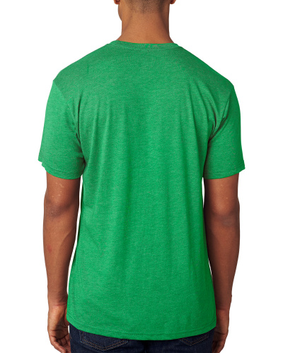 Custom Printed Next Level 6010 Premium Men's Triblend Crew - 1 - Back View | ThatShirt