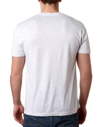 Custom Printed Next Level 6010 Premium Men's Triblend Crew - 2 - Back View | ThatShirt