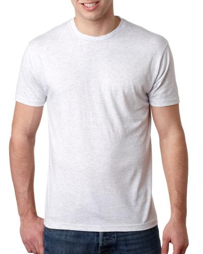 Custom Printed Next Level 6010 Premium Men's Triblend Crew - Front View   ThatShirt