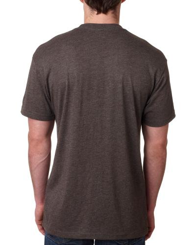Custom Printed Next Level 6010 Premium Men's Triblend Crew - 3 - Back View | ThatShirt