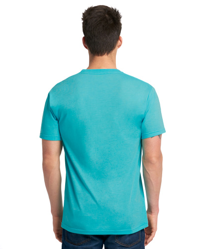 Custom Printed Next Level 6010 Premium Men's Triblend Crew - 13 - Back View | ThatShirt