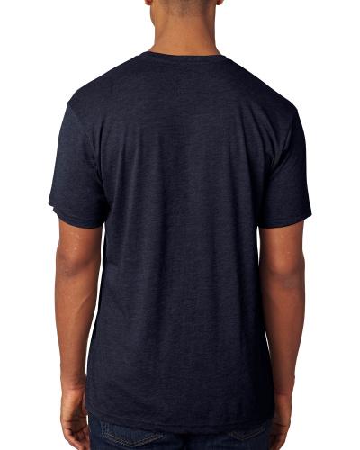 Custom Printed Next Level 6010 Premium Men's Triblend Crew - 8 - Back View | ThatShirt
