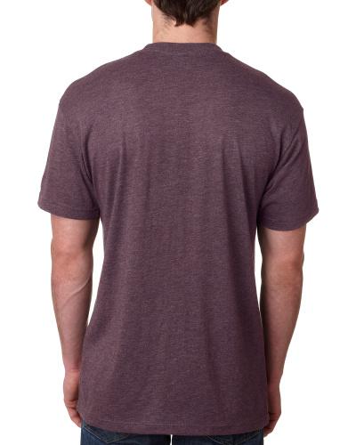 Custom Printed Next Level 6010 Premium Men's Triblend Crew - 9 - Back View | ThatShirt