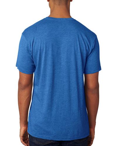 Custom Printed Next Level 6010 Premium Men's Triblend Crew - 11 - Back View | ThatShirt