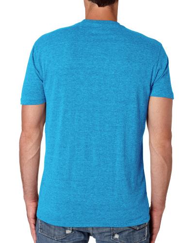 Custom Printed Next Level 6010 Premium Men's Triblend Crew - 12 - Back View | ThatShirt